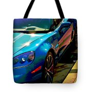 Downtown Vette - Modern Muscle Tote Bag