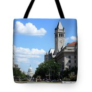 Downtown Washington Tote Bag