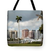 Downtown West Palm Beach Tote Bag
