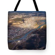 Downtown Whitehorse Yukon Territory Canada Tote Bag