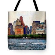 Downtown With Edward Tote Bag