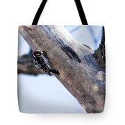 Downy Woodpecker Home Tote Bag