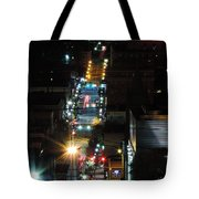 Dowtown Morgantown From Above Tote Bag