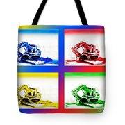 Dozer Mania IIi Tote Bag by Kip DeVore