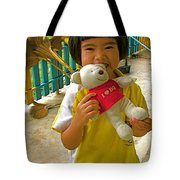 Dq Bear Lover At Baan Konn Soong School In Sukhothai-thailand Tote Bag
