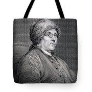 Dr Benjamin Franklin Tote Bag