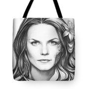 Dr. Cameron - House Md Tote Bag by Olga Shvartsur