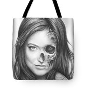 Dr. Hadley Thirteen - House Md Tote Bag by Olga Shvartsur