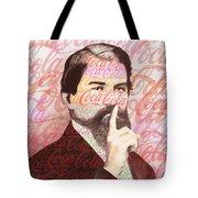 Dr. John Pemberton Inventor Of Coca-cola Tote Bag