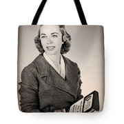 Dr Joyce Brothers 1959 Tote Bag