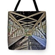 Dr. Knisely Covered Bridge Tote Bag