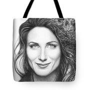 Dr. Lisa Cuddy - House Md Tote Bag by Olga Shvartsur