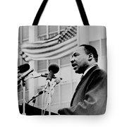 Dr Martin Luther King Jr Tote Bag