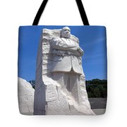 Dr Martin Luther King Memorial Tote Bag
