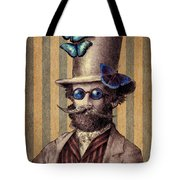 Dr. Popinjay Tote Bag by Eric Fan
