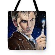 Dr Who #10 - David Tennant Tote Bag
