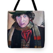 Dr Who #4 - Tom Baker Tote Bag