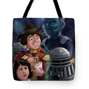Dr Who 4th Doctor Jelly Baby Tote Bag