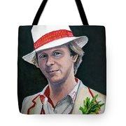 Dr Who #5 - Peter Davison Tote Bag
