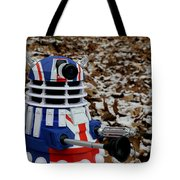 Dr Who - Forest Dalek Tote Bag