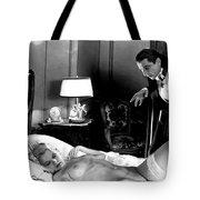 Dracula Bela Lugosi Fantasy Nude Tote Bag