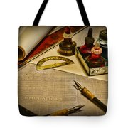 Draftsman - The Ship Builder  Tote Bag
