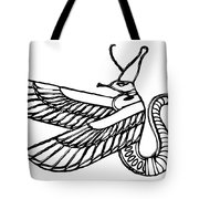 Dragon - Demon Of Ancient Egypt Tote Bag