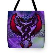 Dragon Duel Series 19 Tote Bag