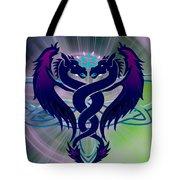 Dragon Duel Series 2 Tote Bag