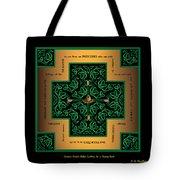 Dragon Egg Celtic Cross Tote Bag