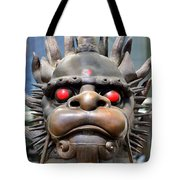 Dragon Face Tote Bag