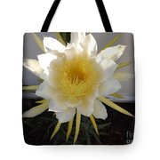 Dragon Fruit Bloom In The Morning Tote Bag