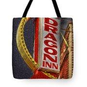 Dragon Inn Restaurant  Tote Bag