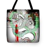 Dragon Inverted Tote Bag