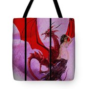 Dragon Power-featured In Comfortable Art Group Tote Bag