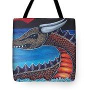 Dragon Three Tote Bag