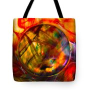 Dragon Travel Sphere Tote Bag