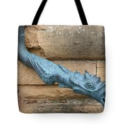 Dragon Waterspout  Chateau De Cormatin Tote Bag