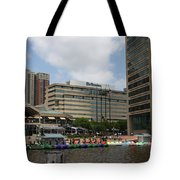 Dragonboats - Inner Harbor Baltimore Tote Bag