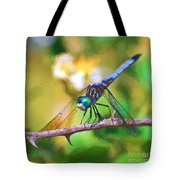 Dragonfly Art - A Thorny Situation Tote Bag