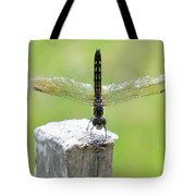 Dragonfly Doing A Handstand Tote Bag
