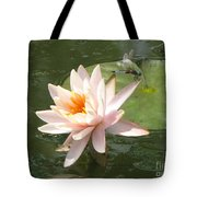 Dragonfly Landing Tote Bag