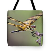 The Halloween Pennant Dragonfly Tote Bag