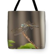 Dragonfly Profile Tote Bag