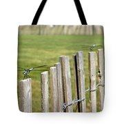 Dragonfly Runway Tote Bag