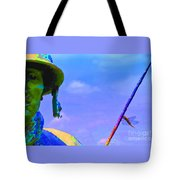 Dragonfly Soldier Tote Bag