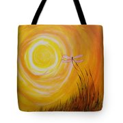 Dragonfly Sun Tote Bag