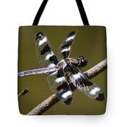 Dragonfly Twelve Spot Skimmer Tote Bag