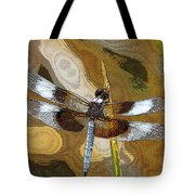 Dragonfly Waiting For A Fly Tote Bag