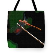 Dragonfly Waits Tote Bag
